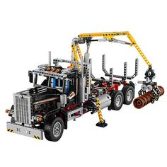 """noah- no way! but fricken awesome!  LEGO Technic 2-in-1 Logging Truck (9397) - LEGO - Toys """"R"""" Us"""
