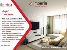 The #Esfera one-of-its-kind #residential complex offering new and surprising high-class living along with an aesthetic #design . A #creative layout answers the living needs of all generations living in the residence.