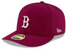 new style fd5c9 c83df Boston Red Sox New Era MLB Low Profile C-DUB 59FIFTY Cap