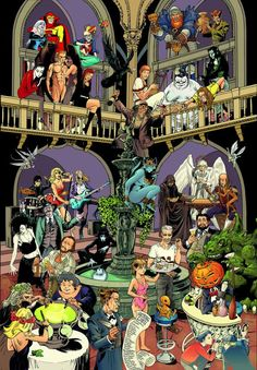 I have this poster too! It's visually excellent. Released for the 20th Anniversary of the Sandman.