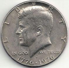 1976D Kennedy Half Dollar 200 year Anniversary of the U.S.A.