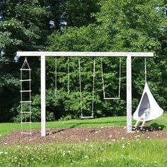 Cacoon Bonsai hammock is the perfect way to spend an afternoon lounging outside in the backyard and playground.