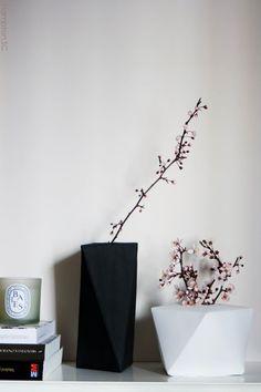 DIY: Floreros figuras geométricas con goma eva