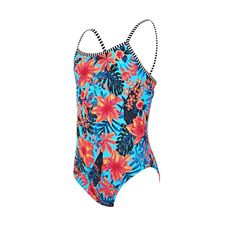 Zoggs Rainbow Yaroomba Girl/'s Classicback One Piece Swimsuit in Multicolour