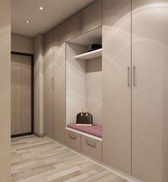 Nice hallway design What would you change? - Design Cointrend News Home Entrance Decor, House Entrance, Flur Design, Hallway Designs, Closet Designs, Wardrobe Design Bedroom, Hallway Furniture, Apartment Design, Design Case
