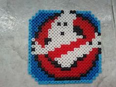 Ghost Buster perler beads