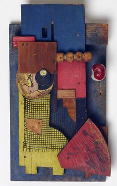 "Kurt Schwitters ""Merz Konstruktion"", 1921 Philadelphia Museum of Art, Pennsylvania, USA Art Lessons, Kurt Schwitters, Assemblage Art, Philadelphia Museum Of Art, Geometric Artists, Art, Collage Art, Art Materials, Contemporary Art"