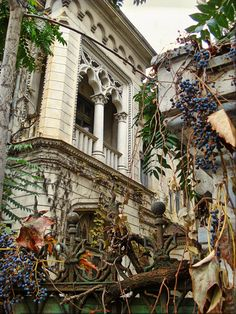 Charming Bucharest♡ House on Jean Louis Calderon Street, Bucharest, Romania Beautiful Castles, Beautiful Buildings, Beautiful Places, Beautiful Architecture, Art And Architecture, Romania Travel, Bucharest Romania, Urban Sketching, Best Cities