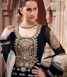 Buy Black Color Designer Anarkali Salwar Kameez - Adah 100-501C diwali-gift-hampers-idea online
