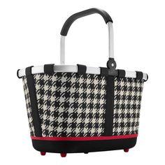 Klassisches Muster - zeitlos und praktisch, der carrybag im 60ties Look