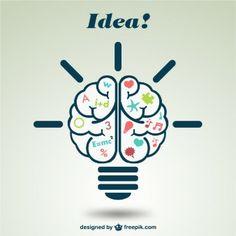 Créatif cerveau illustration