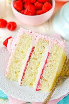This post is sponsored by ALDI, but all opinions are my own. This White Chocolate Raspberry Mousse Cake might just be my new favorite! With layers of moist vanilla cake, raspberry filling and white chocolate mousse all covered in raspberry mousse, it's wonderfully light and pure heaven! You guys, this cake has been on my …