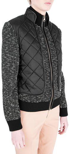 Купить Куртка из шерсти и хлопка Salvatore Ferragamo в интернет-магазине HELEN-MARLEN.COM