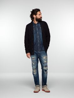 Knitted cardigan | Pullover | Men's Clothing at Scotch & Soda $189