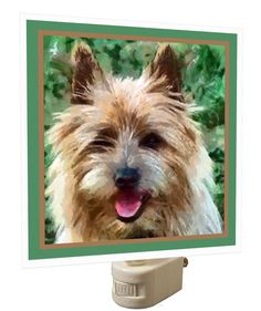 Cairn Terrier 'Toto' Night Light From Doggylips by DoggyLips on Etsy