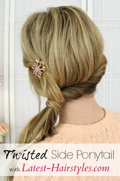 93 Awesome Side Ponytail Ideas, 14 Cute Side Ponytail Ideas for Long Hair 2019 Page 4 Of, Black Girl Ponytail Styles 26 Ponytail Hairstyles for Black, Weekend Style Braided Ponytail Tutorial Hair Romance, 40 Side Ponytails that You Will Love. Side Ponytail Hairstyles, Twist Ponytail, Ponytail Styles, Trendy Hairstyles, Side Ponytails, Ponytail Ideas, Updo Hairstyle, Prom Hairstyles, School Hairstyles