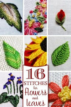 706 Best Hand embroidery flowers images in 2019   Painting on fabric