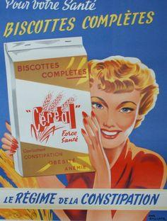 Pour votre santé : biscottes complètes - Le régime de la constipation - (Emmanuel Gaillard) -
