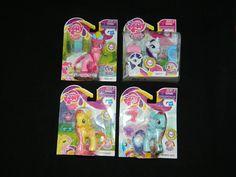 My Little Pony G4 FiM Lot of 4 Mint In Box MIP [1a] #Hasbro