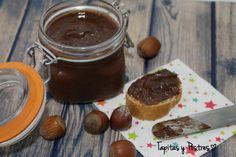 Crema de cacao y avellanas vegana