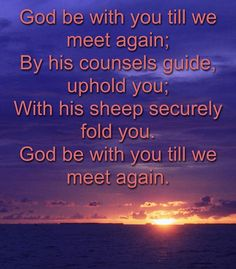 God Be with You Till We Meet Again. Hymn 152 #LDS #Mormon