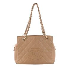 Chanel Petite Timeless Tote Quilted Caviar | From a collection of rare vintage tote bags at https://www.1stdibs.com/fashion/handbags-purses-bags/tote-bags/