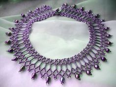 Beads Magic - free beading patterns and everything about handmade jewelry: beads patterns, schemas, photos, ideas, inspiration. Seed Bead Necklace, Seed Bead Jewelry, Diy Necklace, Seed Beads, Diy Schmuck, Schmuck Design, Jewelry Making Tutorials, Beading Tutorials, Jewelry Crafts
