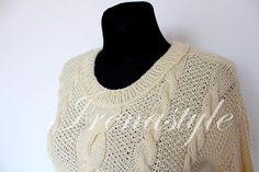 Turtleneck sweater Sweater Women's sweater Hand Knit