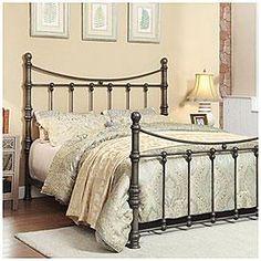 View Francesca Metal Queen Bed Deals at Big Lots