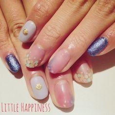 マットホロネイル #ネイル#nail#ネイルアート#原宿#リトルハピネス#LittleHappiness#nailart#ネイルデザイン