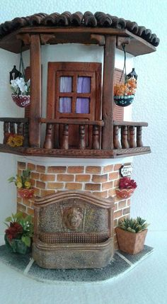 1 million+ Stunning Free Images to Use Anywhere Miniature Plants, Miniature Fairy Gardens, Miniature Houses, Diy Clay, Clay Crafts, Diy And Crafts, Clay Houses, Ceramic Houses, Clay Fairy House