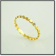 Coleção Miscelânea  - Etapas - Em ouro amarelo 18k e diamantes