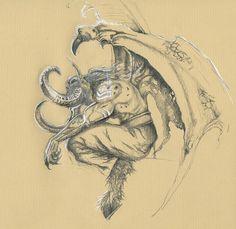 World of Warcraft, Illidan. Art by Ellentari