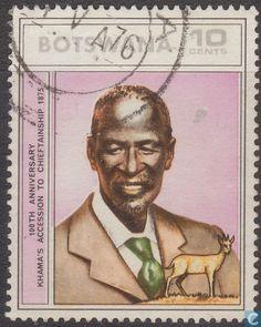Postage Stamps - Botswana [BWA] - Khamas Gazelle