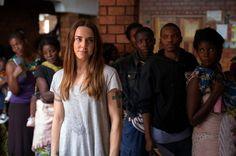 Melanie C in Zambia