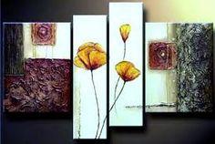 Resultado de imagen para dibujos de flores para pintar en acrilico