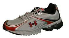 UNDER ARMOUR Boys' UA Prophet II Running Shoes-Silver/Black/Red « Shoe Adds for your Closet