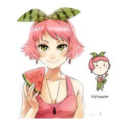 Watermelon by meago.deviantart.com on @deviantART