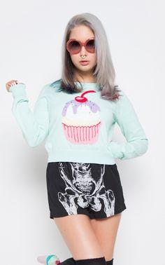 Hello Cupcake Sweater
