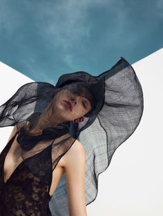 Vogue China : Sasha Luss Photographer: Nathaniel Goldberg Fashion Editor: Tom Van Dorpe