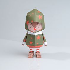 [ RUDOLPH ] Paper toy of Boogiehood on Behance