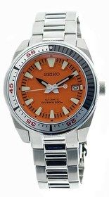 Seiko Men' s Orange Samurai Automatic 200M Diver' s Watch (LIMITED EDITION) # SNM021 [Only 300pcs in the World] # SNM021K1. Please visit us at the following URL: http://www.bodying.com/seiko-men-orange-samurai-snm021k1/watches/4146
