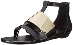 BCBGeneration Women's BG Angelika Wedge Sandal >>> Additional details at the pin image, click it  : Strappy sandals
