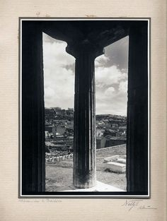 Athenes – Sur le Theseion, π. 1930 Windows, Window, Ramen