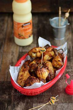 Chicken Wings { Ailes de poulet comme au fast food} – Raffiné et Délicieux