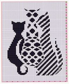Thrilling Designing Your Own Cross Stitch Embroidery Patterns Ideas. Exhilarating Designing Your Own Cross Stitch Embroidery Patterns Ideas. Chat Crochet, Crochet Chart, Filet Crochet, Cross Stitching, Cross Stitch Embroidery, Embroidery Patterns, Loom Bands, Cross Stitch Charts, Cross Stitch Patterns