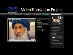 OSHO TALKS Video Translation Project
