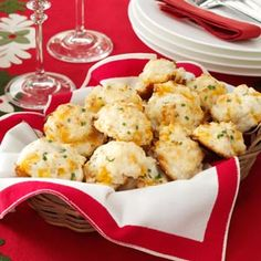 Cheese & Garlic Biscuits Recipe from Taste of Home