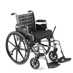 """Invacare Tracer EX2 Wheelchair Removable Full-Length Arms 18"""" x 16"""" & 1 Elevating Leg Rest-1 Week Rental"""