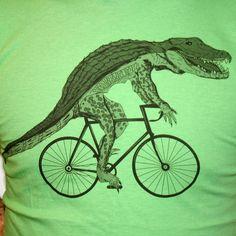 Unisex Urban ALLIGATOR  T Shirt american apparel xs s m l xl and xxl (Grass Green). $21.00, via Etsy.